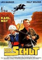 Schut, Der - German Movie Poster (xs thumbnail)