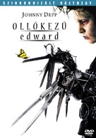 Edward Scissorhands - Hungarian DVD movie cover (xs thumbnail)