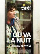 Où va la nuit - French Movie Poster (xs thumbnail)