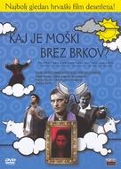 Sto je muskarac bez brkova? - Slovenian DVD cover (xs thumbnail)