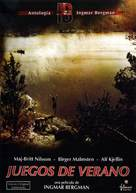 Sommarlek - Spanish DVD cover (xs thumbnail)
