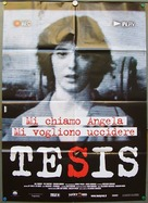 Tesis - Italian Movie Poster (xs thumbnail)