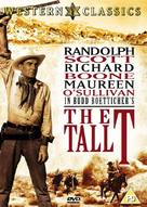 The Tall T - British DVD cover (xs thumbnail)