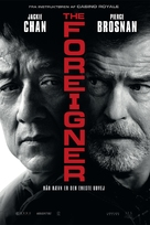 The Foreigner - Danish Movie Poster (xs thumbnail)
