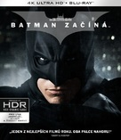 Batman Begins - Czech Blu-Ray movie cover (xs thumbnail)