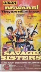 Savage Sisters - British Movie Cover (xs thumbnail)