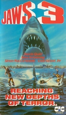 Jaws 3D - British Movie Cover (xs thumbnail)
