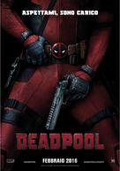 Deadpool - Italian Movie Poster (xs thumbnail)
