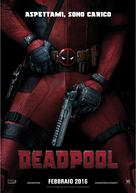 Deadpool - Italian Movie Poster (xs thumbnail)
