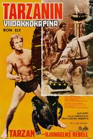 Tarzan's Jungle Rebellion - Finnish Movie Poster (xs thumbnail)