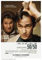 50/50 - Malaysian Movie Poster (xs thumbnail)