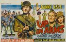 Up in Arms - Belgian Movie Poster (xs thumbnail)