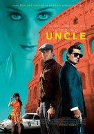 The Man from U.N.C.L.E. - Latvian Movie Poster (xs thumbnail)