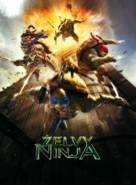 Teenage Mutant Ninja Turtles - Czech Movie Poster (xs thumbnail)
