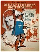 Visconte di Bragelonne, Il - Danish Movie Poster (xs thumbnail)