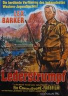 The Deerslayer - German Movie Poster (xs thumbnail)