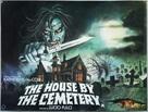 Quella villa accanto al cimitero - British Movie Poster (xs thumbnail)
