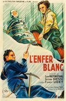 Die weiße Hölle vom Piz Palü - French Movie Poster (xs thumbnail)