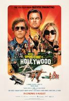 Once Upon a Time in Hollywood - Malaysian Movie Poster (xs thumbnail)
