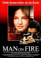 Man on Fire - German Movie Poster (xs thumbnail)