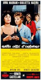 Nella città l'inferno - Italian Movie Poster (xs thumbnail)