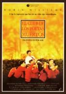 Dead Poets Society - Spanish Movie Poster (xs thumbnail)