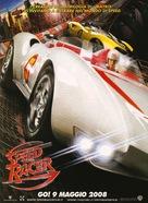 Speed Racer - Italian Movie Poster (xs thumbnail)