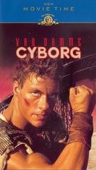 Cyborg - Norwegian VHS movie cover (xs thumbnail)