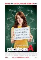 Easy A - Romanian Movie Poster (xs thumbnail)