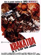 Krakatoa, East of Java - French Movie Poster (xs thumbnail)