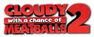 Cloudy with a Chance of Meatballs 2 - Logo (xs thumbnail)