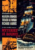 Mutiny on the Bounty - Swedish Movie Poster (xs thumbnail)