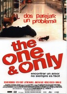The One and Only - Spanish Movie Poster (xs thumbnail)