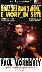 Blood for Dracula - Italian VHS cover (xs thumbnail)