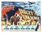 Target Unknown - Movie Poster (xs thumbnail)
