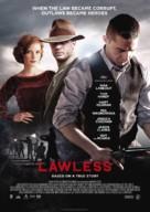 Lawless - Swedish Movie Poster (xs thumbnail)