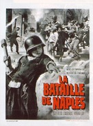 Le quattro giornate di Napoli - French Movie Poster (xs thumbnail)
