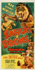 Safari Drums - Movie Poster (xs thumbnail)