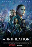 Annihilation - British Movie Poster (xs thumbnail)