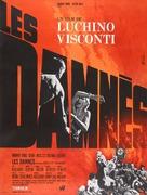 La caduta degli dei (Götterdämmerung) - French Movie Poster (xs thumbnail)