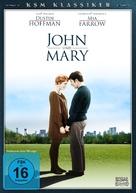 John and Mary - German DVD cover (xs thumbnail)
