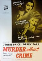 Murder Without Crime - British Movie Poster (xs thumbnail)