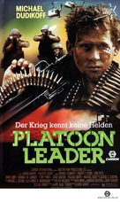 Platoon Leader - Swiss VHS movie cover (xs thumbnail)
