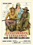 Amico, stammi lontano almeno un palmo - Spanish Movie Poster (xs thumbnail)