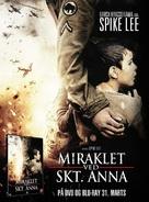 Miracle at St. Anna - Danish poster (xs thumbnail)