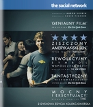 The Social Network - Polish Blu-Ray movie cover (xs thumbnail)