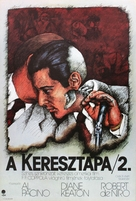 The Godfather: Part II - Hungarian Movie Poster (xs thumbnail)