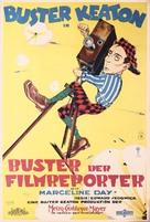 The Cameraman - German Movie Poster (xs thumbnail)