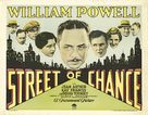 Street of Chance - Movie Poster (xs thumbnail)