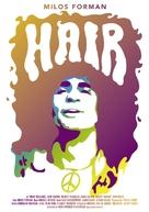 Hair - German Movie Poster (xs thumbnail)